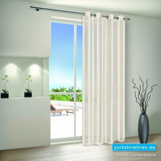 Crushed Vertical Stripe Voile Panel
