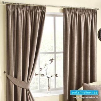 Rico Mink Pencil Pleat Curtains
