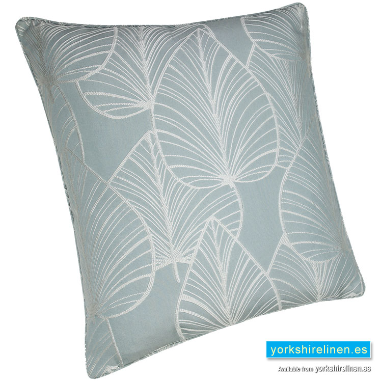 palma duck egg blue cushion cover yorkshire linen. Black Bedroom Furniture Sets. Home Design Ideas