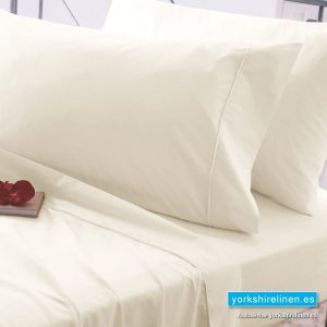 Egyptian Cotton Fitted Sheets 200 Thread Count Ivory