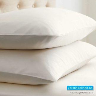 Ivory Egyptian Cotton Pillowcases 400 Thread Count