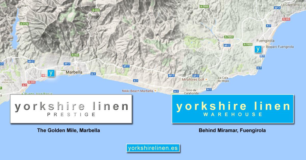 Shops in Mijas Costa Marbella Yorkshire Linen Spain