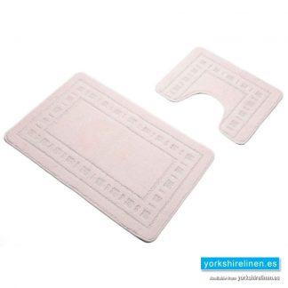 Armoni Cream Bath Mat Set
