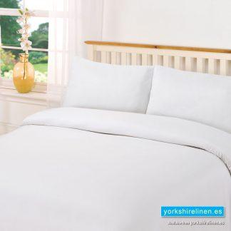 Plain Dye White Duvet Cover Set