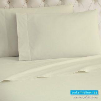 Cream Flannelette Flat Sheet