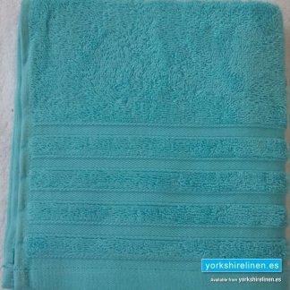 Diamond Bright Turquoise Cotton Towels