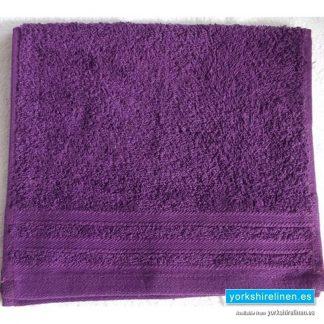 Diamond Grape Purple Cotton Towels