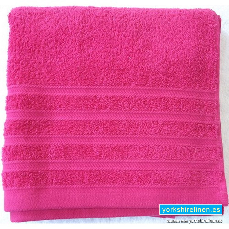 Hot Pink Towels Bathroom: Diamond Hot Pink Cotton Towels