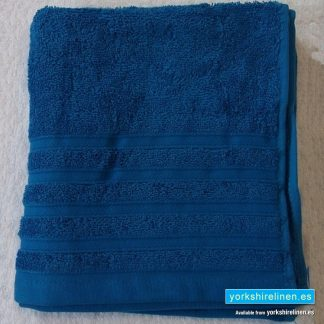Diamond Royal Blue Cotton Towels