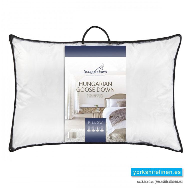 Snuggledown Goose Down Pillow Yorkshire Linen Warehouse