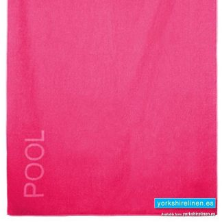XL Beach Towel Hot Pink