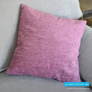 Chenille Basic Rose Pink Cushions