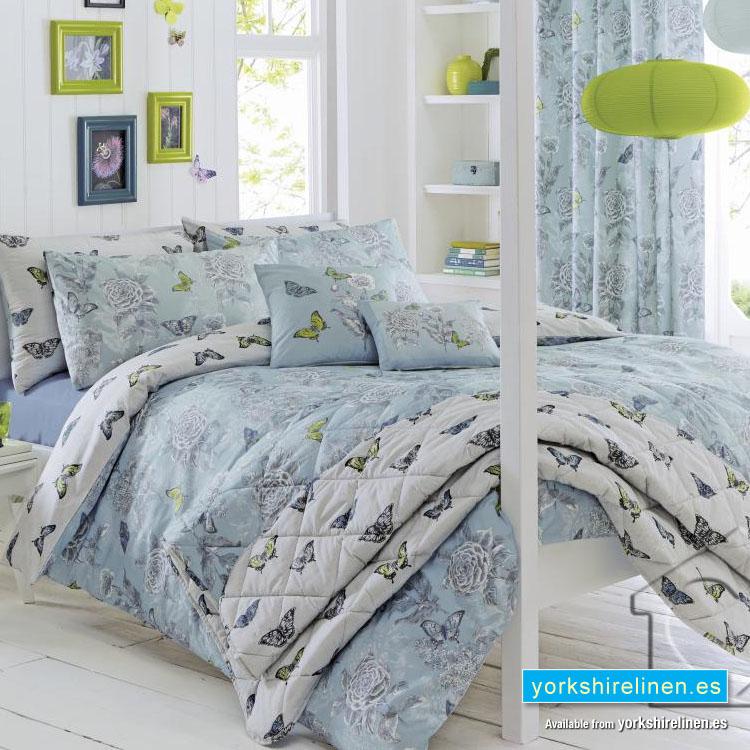 Aviana Duck Egg Blue Duvet Cover Set. Yorkshire Linen, Mijas ... : duck egg blue quilt cover sets - Adamdwight.com
