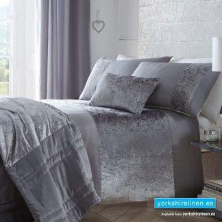 Boulevard Grey Duvet Cover Set - Bedding from Yorkshre Linen Spain