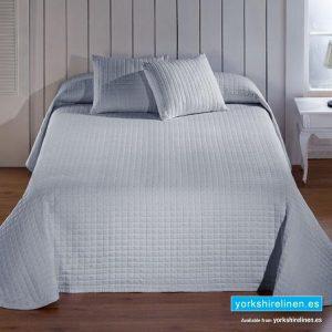 Calgari Grey Bedspread, Bedding from Yorkshire Linen Spain
