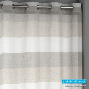 Inedal Eyelet Brown Voile Panel