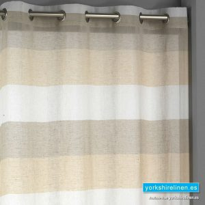 Inedal Eyelet Voile Panel, Beige
