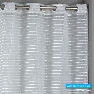 Nivar Ring Top Voile Panel Ivory