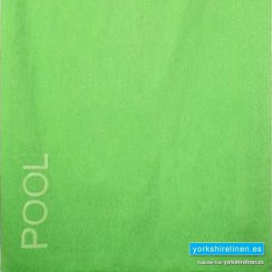 XL Beach Towel, Lime Green