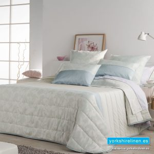 Calma Mint Green Quilted Bedspread