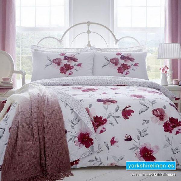 Celestine Blush Pink Duvet Cover Set from Yorkshire Linen SL, Fuengirola Marbella Online