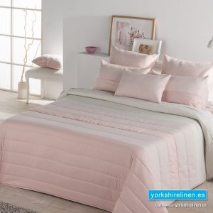 Lujan Quilted Pink Bedspread