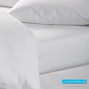 White 100% Cotton Fitted Sheet