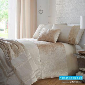 Boulevard Oyster Duvet Cover Set - Bedding from Yorkshire Linen Spain