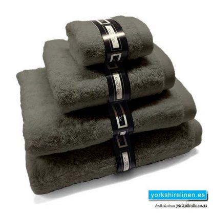 Ambassador Towels in Charcoal Grey from Yorkshire Linen Warehouse, Mijas Costa and Marbella