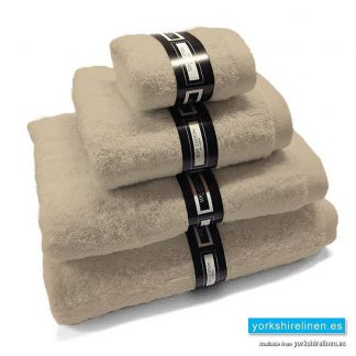 Ambassador Towels in Linen from Yorkshire Linen Warehouse, Mijas Costa and Marbella