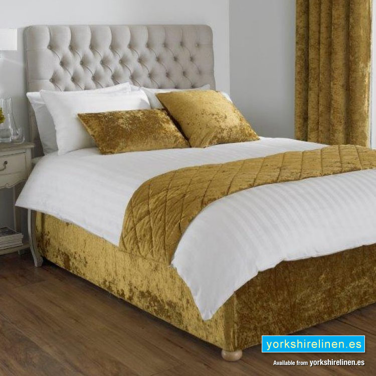 Verona Fitted Bed Wrap, Ochre