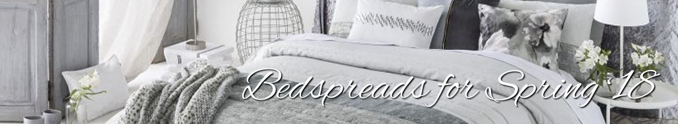 Bedspreads and Throws for Spring 2018 Yorkshire Linen Warehouse Spain