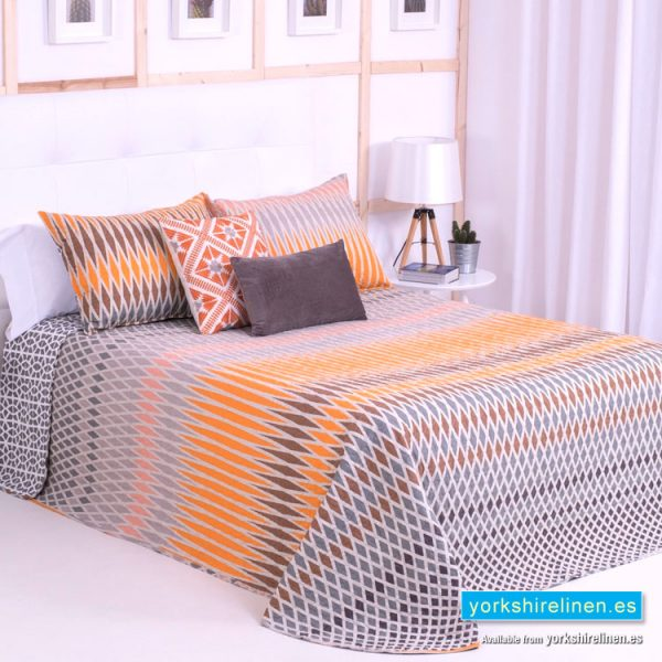 Harrod Orange Bedspread