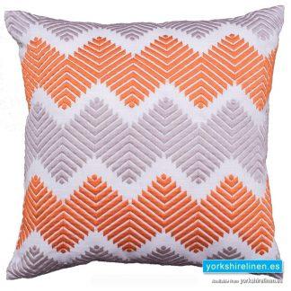 Noelet Orange Cushion