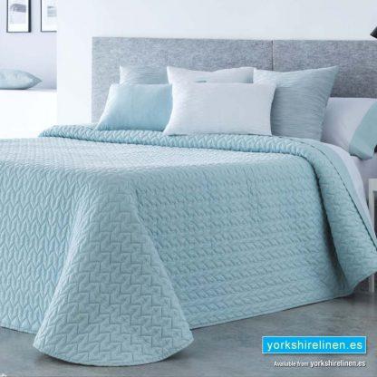 Soft Cotton Bedspread Soft Mint