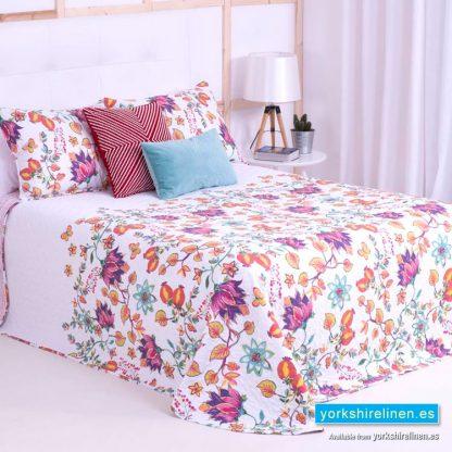 Summer Flower Multicolour Bedspread