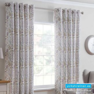 Everley Heather Ring Top Curtains