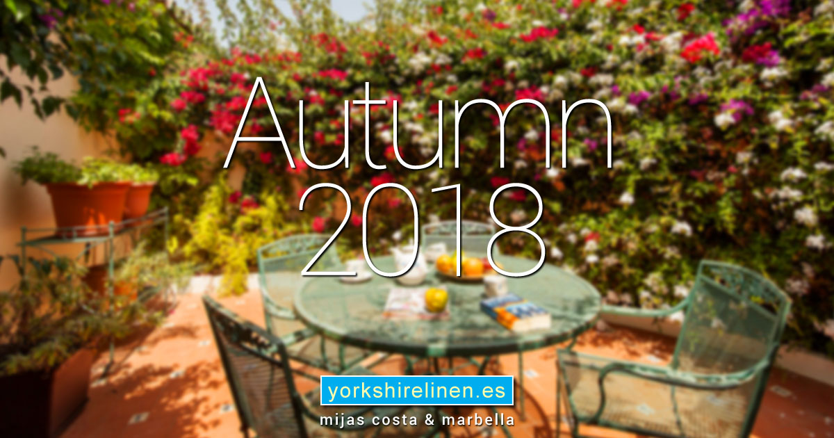 Autumn 2018 Interior Design and Soft Furnishings