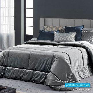 Deluxe Bedspread, Grey - Yorkshire Linen Warehouse Mijas Marbella
