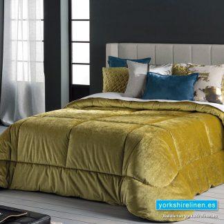 Deluxe Bedspread, Mustard - Yorkshire Linen Warehouse Mijas Marbella