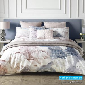 Karl Lagerfeld Flourish Blue Duvet Cover