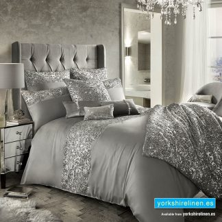 Kylie Minogue Cadence Silver Duvet Cover
