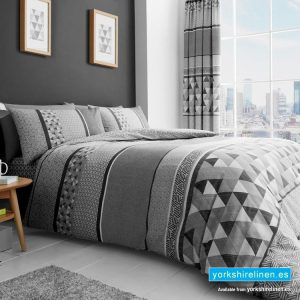 Madison Grey Duvet Cover Set