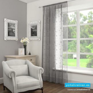 Ariana Sequin Voile Panel Grey