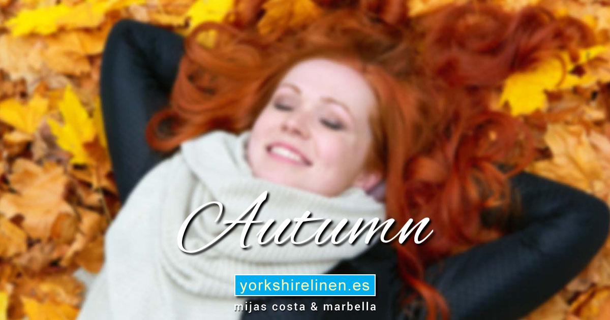 Autumn at Yorkshire Linen Warehouse