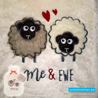Hot Water Bottle with Cover - Me and Ewe - Yorkshire Linen Warehouse, Mijas Marbella Spain