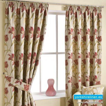 Lola Chintz - Pencil Pleat Curtains