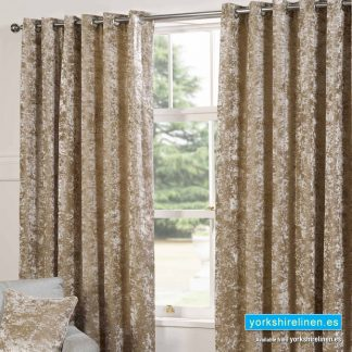 Plush Velvet Silk Curtains