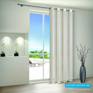 Wide Stripe Voile Panel
