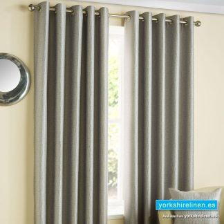 Ziggi Eyelet Curtains Graphite